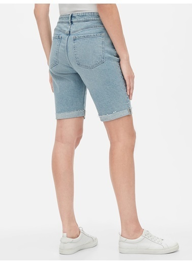 Gap Jean Şort Mavi